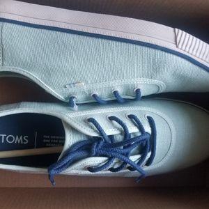 Mint Toms shoes